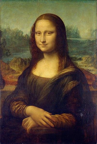 Leonardo Da Vinci tarafından yapılmış olan Mona Lisa Tablosu