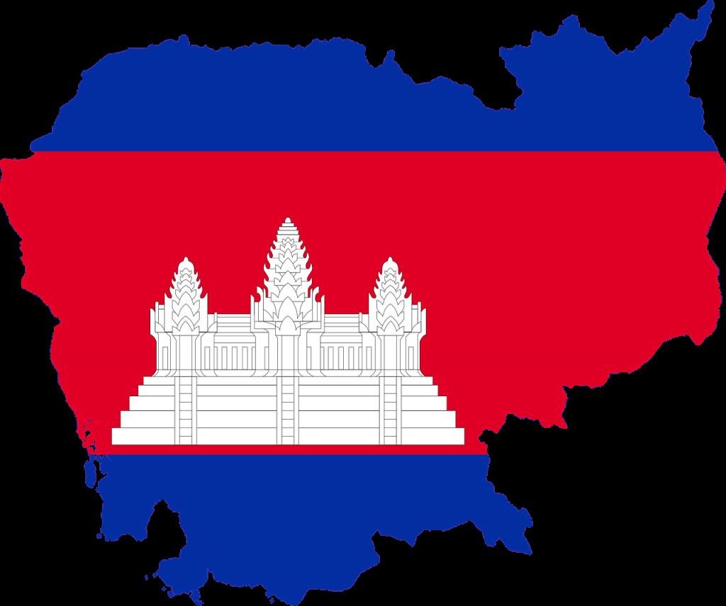 kamboçya Bayrağı Angkor Wat