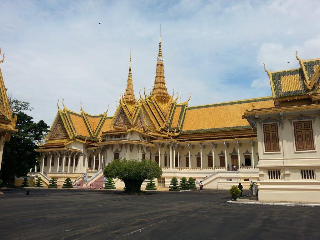 Kamboçya'nın Başkenti Kraliyet Sarayı