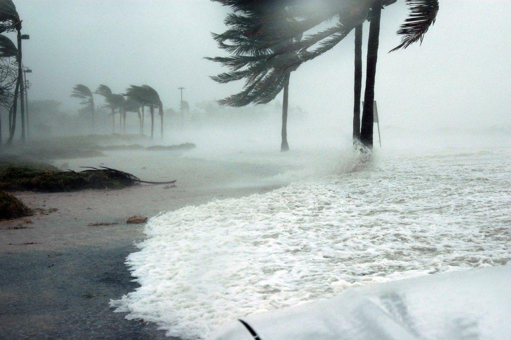 Denize Kasırga Etkisi