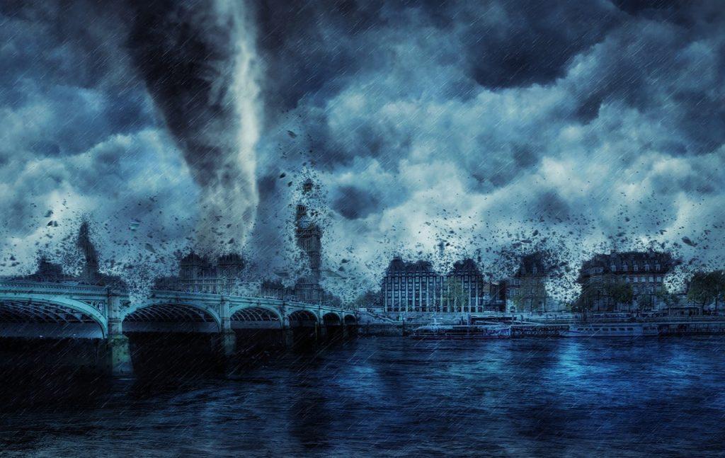 Kasırgalarda Yağış Oluşur