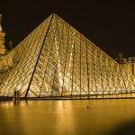 Louvre Müzesi Dışarıdan Görünüşü