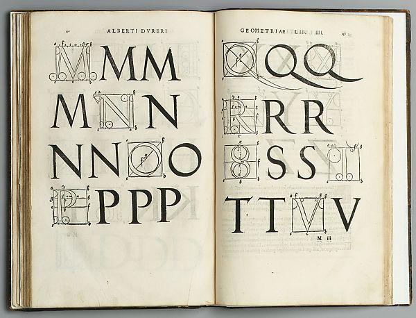 Albrecht Durer Geometri Kitabı