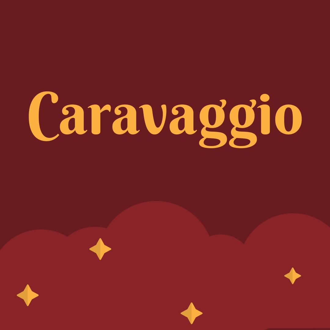 Caravaggio Ressam