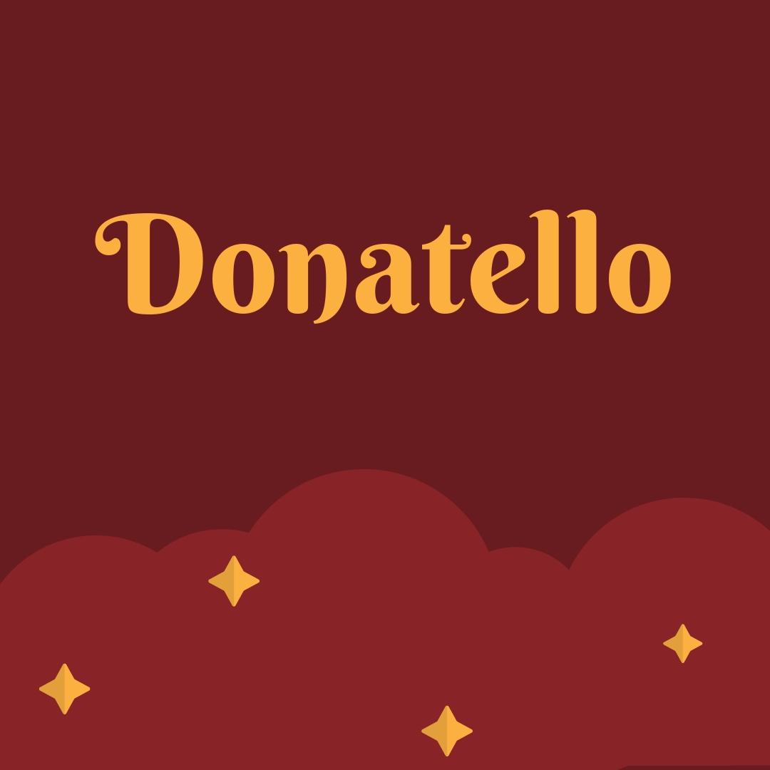 Donatello Görsel sanatçı