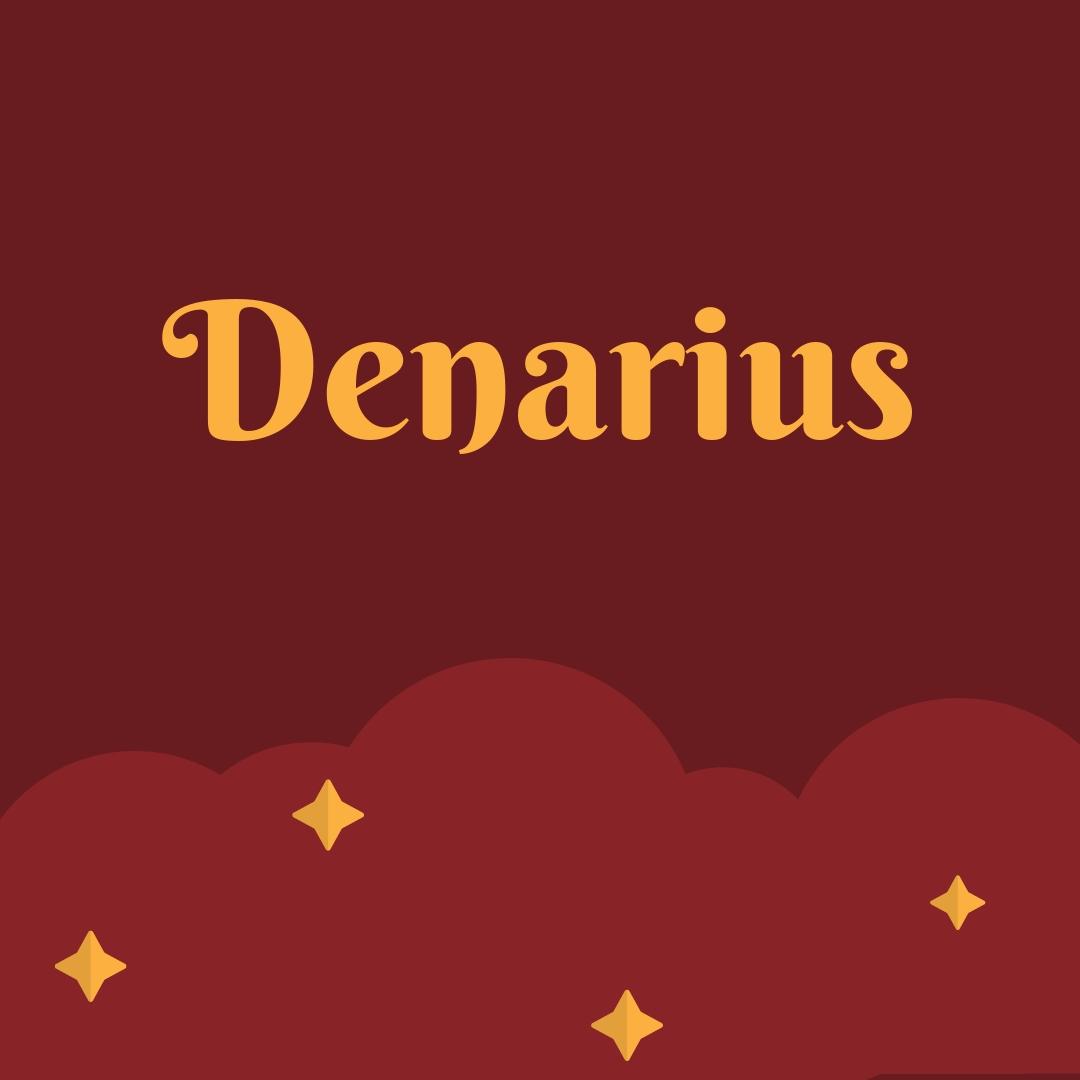 Denarius Roma Gümüş Sikkesi