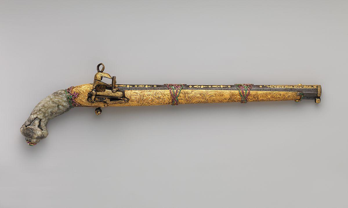 Osmanlı Zamanı Eski Misket Tabanca