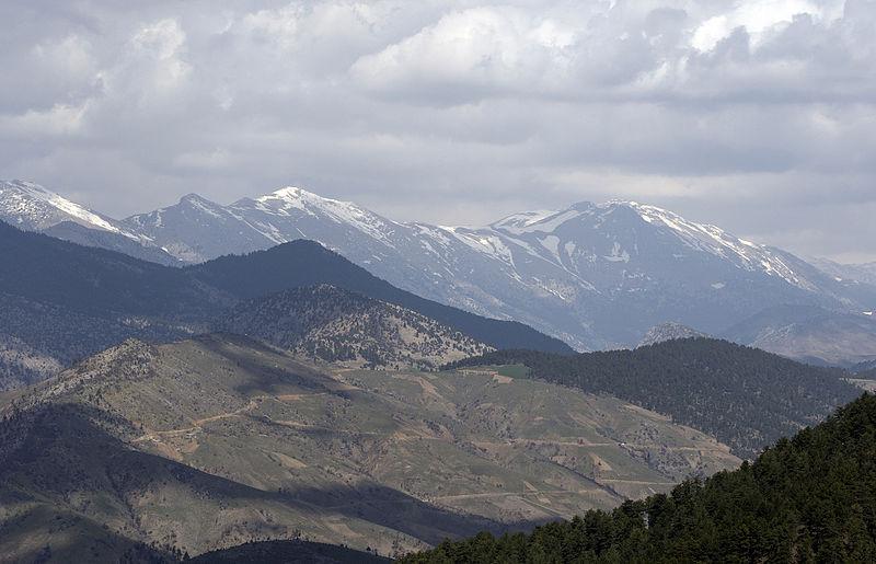 Adana Tarafından Toros Dağları Görünümü
