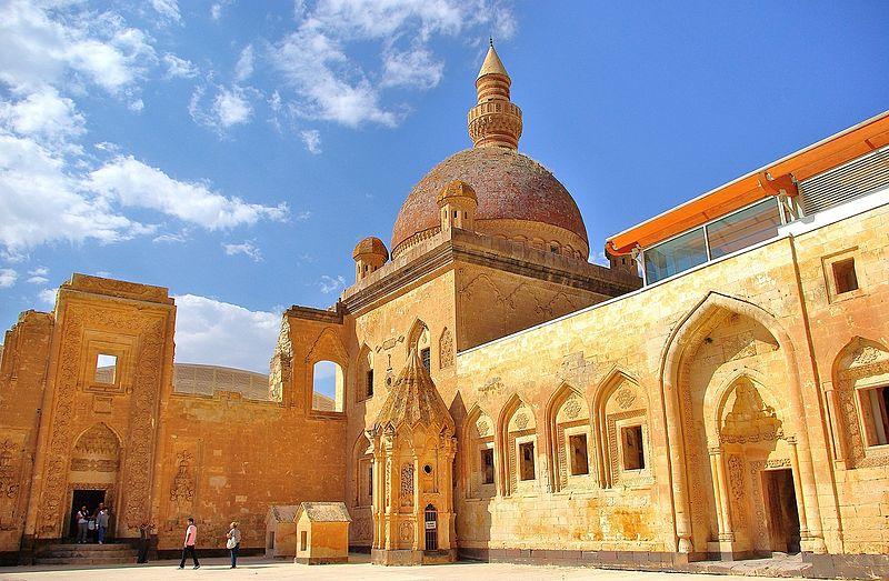 İshak Paşa Sarayının İç Görünümü