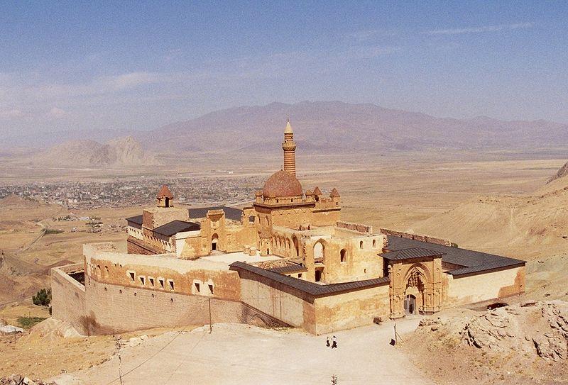İshak Paşa Sarayı Görünümü