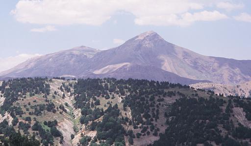 Afyon Sultan Dağları Gelincik Tepesinden Görünüm