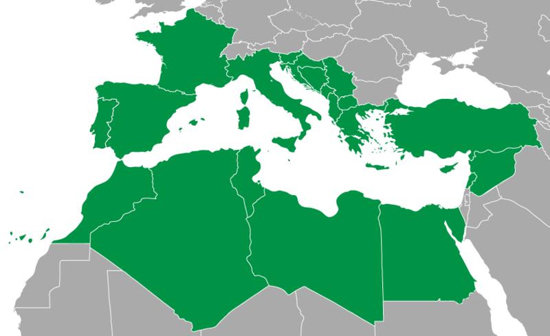 Akdeniz Oyunlarına Katılan Ülkeler