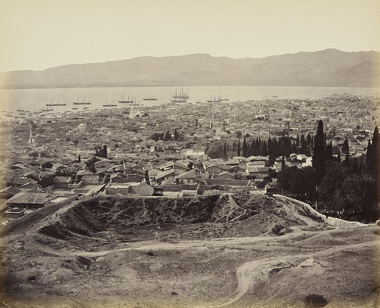 İzmir'in 1862 Yılında Görünümü