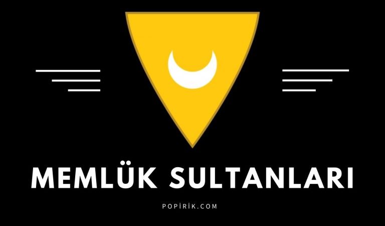 Memlük Sultanları Tam Listesi