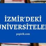 İzmir Üniversiteleri (Tam Liste)
